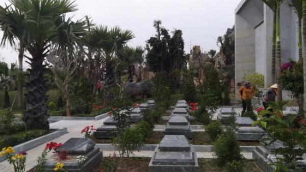 Thái Bình: Ai giúp 'siêu nghĩa trang' tiền tỉ xây hoành tráng trên đất nông nghiệp?