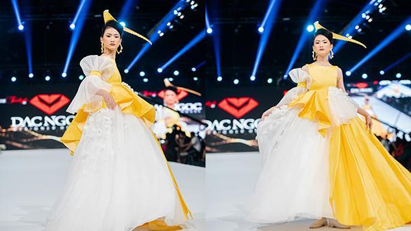 'Chân dài nhí' Nam Định 13 tuổi, cao 1m70 chinh phục sàn diễn quốc tế Vie Fashion Week 2019