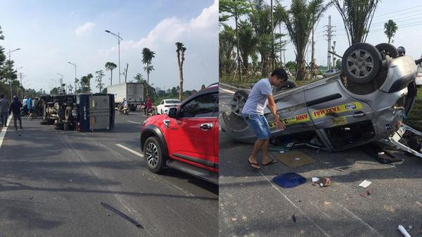 Hé lộ danh tính tài xế ô tô gây tai nạn liên hoàn rồi lái xe bỏ chạy