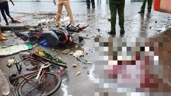 Vụ xe khách gây tai nạn liên hoàn t.ông vào chợ sáng nay: Số người ch.ết tăng lên, danh tính nạn nhân được xác định