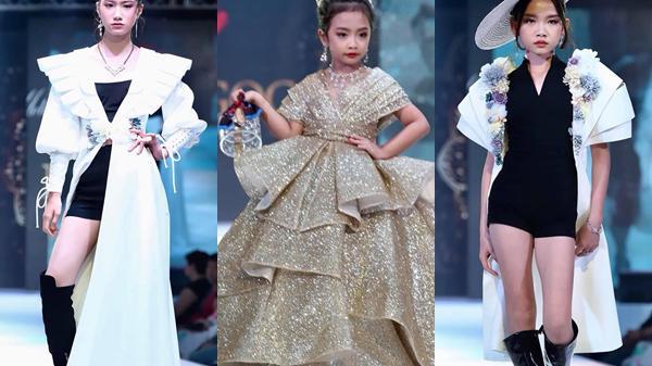 Dàn mẫu nhí Nam Định 'phá đảo' sàn diễn Bangkok Kids International Fashion Show 2019