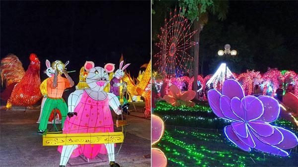 Nam Định ơi, lần đầu tiên quê mình diễn ra Lễ hội đèn lồng kết hợp trình chiếu hiệu ứng ánh sáng siêu hoành tráng đây này!