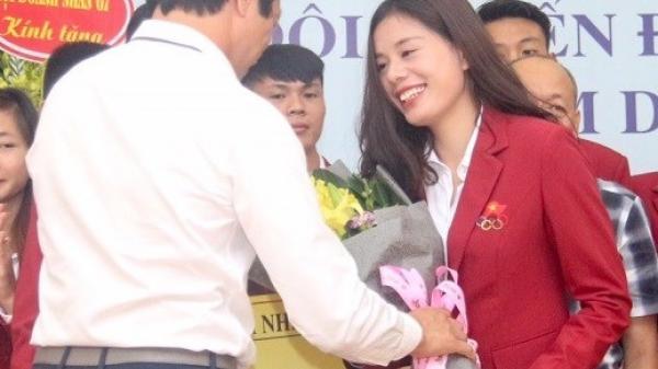 Nguyễn Thị Huyền - VĐV người nam Định: Tôi quyết chiến thắng tại giải VĐQG 2017