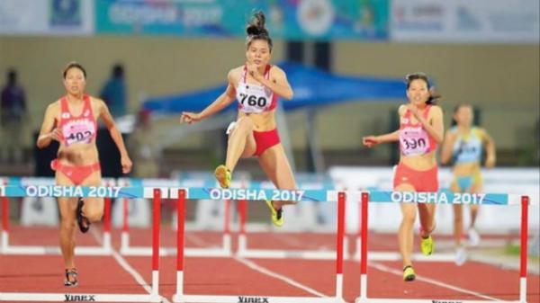 Cô gái quê Nam Định Nguyễn Thị Huyền xếp hạng 50 thế giới cự ly 400m rào nữ