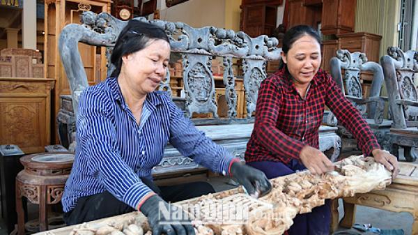 Hải Hậu (Nam Định) gìn giữ tinh hoa văn hoá trong các làng nghề truyền thống
