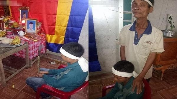 Tận cùng thống khổ: Bố bỏ nhà đi, mẹ mất, anh qua đời, bé trai 13 tuổi bơ vơ sống bên ông bà ngoại mù lòa, nghèo khó