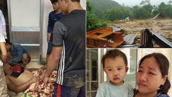 Xót xa cảnh gia đình: Nhà sập, vợ mang thai tử vong, chồng gãy 2 chân, không thể kêu cứu vì nước lũ cô lập