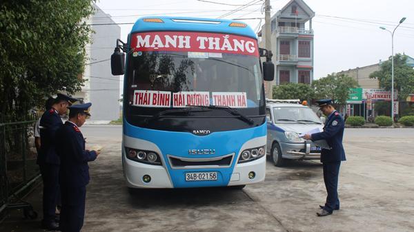 Nam Định: Mạnh tay xử lý xe khách vi phạm