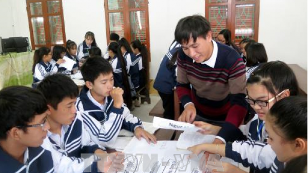 Nam Định: Người đưa sơ đồ toán học vào giảng dạy văn học