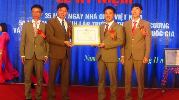 Nam Định: Trường THCS Nam Cường đạt chuẩn Quốc gia