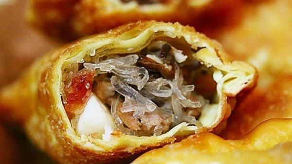 Bánh gối Nam Định dân dã mà ngon