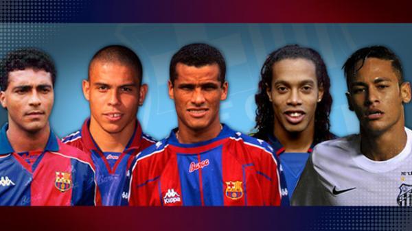 6 siêu sao Brazil hàng đầu viết nên lịch sử của Barcelona