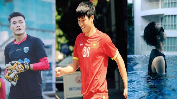 NGẤT NGÂY với dàn mỹ nam tài hoa, body săn chắc của U23 Việt Nam