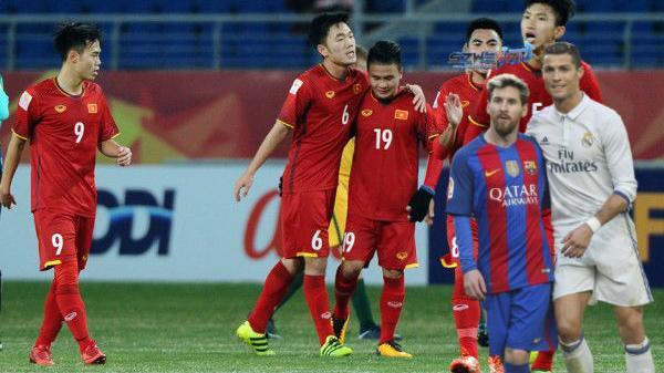 NÓNG: Giải đấu của Siêu kinh điển Messi - Ronaldo cũng phải 'ngả mũ' trước U23 Việt Nam