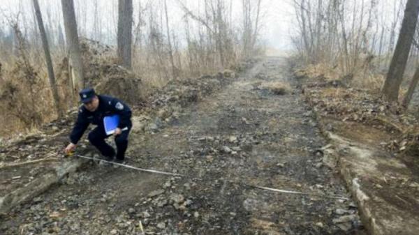 Chuyện kỳ cục đến khó tin: Đào trộm cả đoạn đường đem bán ở Trung Quốc