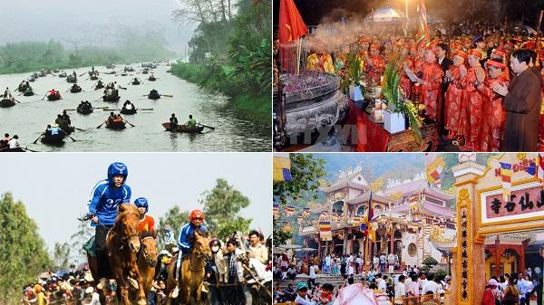 """Điểm danh những lễ hội lớn, nhỏ trên cả nước trong tháng Giêng này, """"không đi là tiếc"""" hùi hụi"""