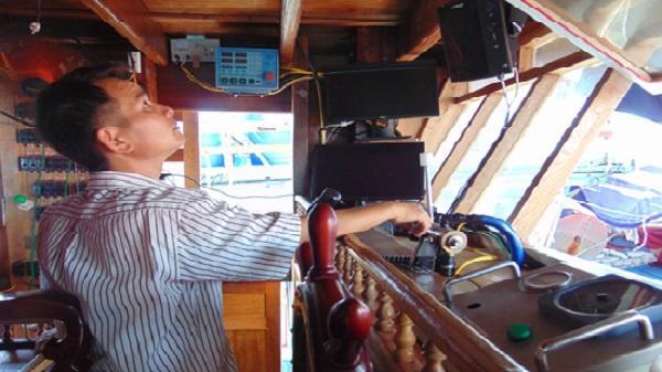 Ngư dân Nghệ An đầu tư hơn nửa tỷ đồng mua máy dò ngang