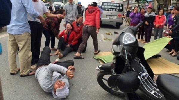 Tai nạn ngã xuống đường, nạn nhân bị xe khách cán tử vong