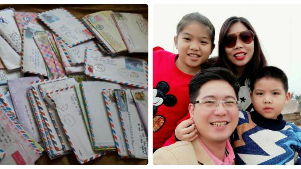 Những bức thư viết tay và cái kết bất ngờ của giảng viên Nghệ An khiến nhiều người...sững sờ