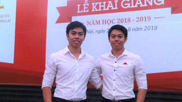 Cặp song sinh ở Nghệ An cùng trở thành thủ khoa, á khoa đầu ra đại học