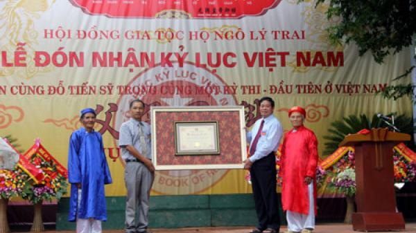 Tự hào xứ Nghệ: Dòng họ nhận kỷ lục Guinness Việt Nam vì có 5 đời liên tiếp đỗ tiến sĩ