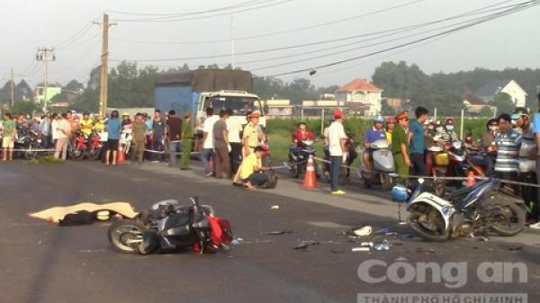Trợ lý trọng tài V.League bị tai nạn t.ử v.ong trên đường về nhà