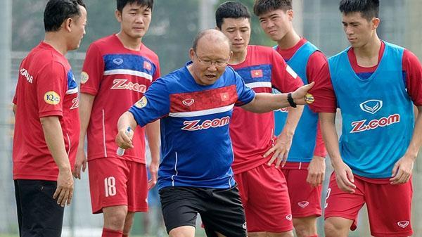 Danh sách 30 cầu thủ Việt Nam tập trung chuẩn bị AFF Cup 2018