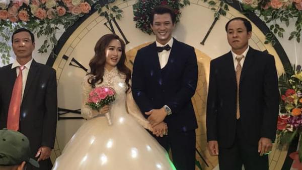 """""""Chồng hờ"""" của Phương Oanh """"Quỳnh búp bê"""" tổ chức đám cưới bí mật tại Hòa Bình"""