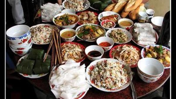 Nét đặc trưng trong bữa cỗ xứ Nghệ không phải ai cũng biết