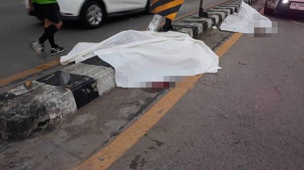 KINH HOÀNG: Lái xe bắn tốc độ, nam thanh niên bị đ.ứt đôi người