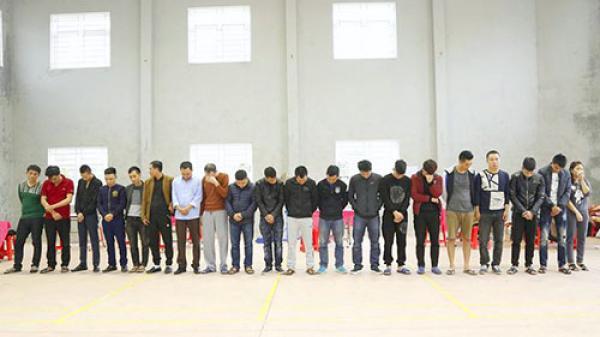 Tr.iệt ph.á đường dây cá độ bóng đá 15 triệu USD ở Hà Tĩnh