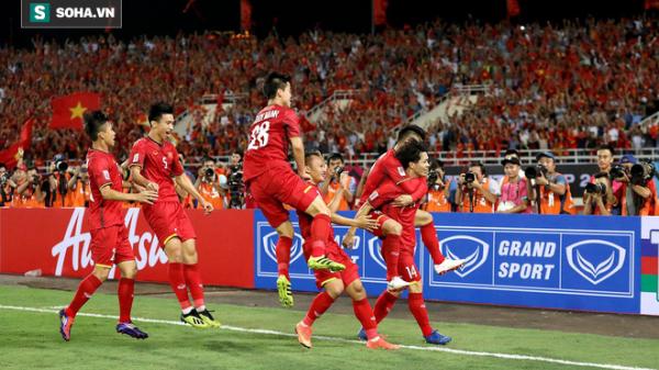 Thắng thuyết phục Malaysia, Việt Nam lập luôn kỷ lục ở AFF Cup 2018