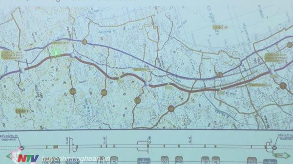 Dự án đường cao tốc Bắc - Nam ảnh hưởng tới 800 hộ dân ở 39 xã trên địa bàn tỉnh Nghệ An