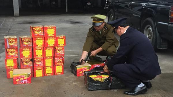 Nghệ An: Phát hiện hơn 80 kg pháo lậu