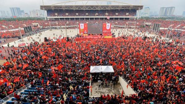 TIN VUI: Lắp nhiều màn hình LED cỡ lớn ở Hà Tĩnh phục vụ CĐV xem trận chung kết AFF Cup 2018