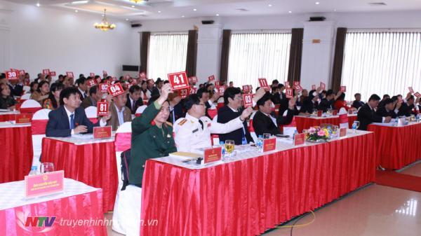 Miễn nhiệm chức danh Phó Chủ tịch UBND tỉnh Nghệ An nhiệm kỳ 2016 - 2021