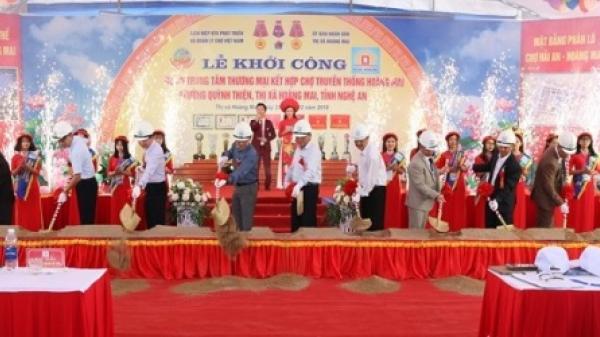 Xây dựng dự án Trung tâm thương mại kết hợp chợ truyền thống phía Bắc Nghệ An