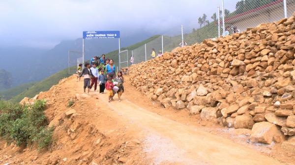 Xây dựng 2 điểm trường mầm non cho các em nhỏ vùng cao tại tỉnh Lai Châu