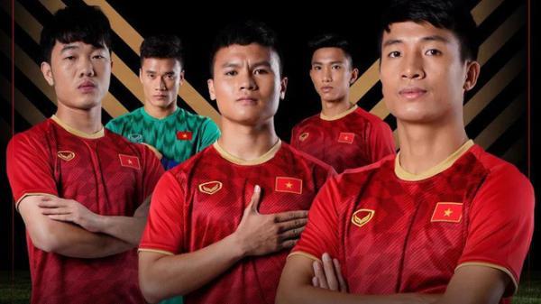 Ngắm Bùi Tiến Dũng (Hà Tĩnh) và 4 cầu thủ khác trong loạt áo đấu cực mới của ĐT Việt Nam  tại Asian Cup 2019