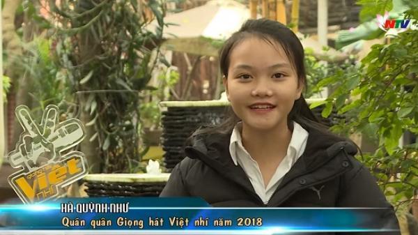 Gặp gỡ Hà Quỳnh Như quán quân Giọng hát Việt nhí 2018