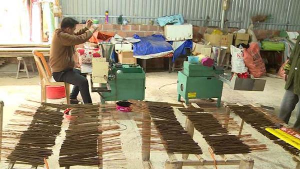 Đ.ộc đáo xưởng hương trầm đầu tiên ở Phúc Trạch, Hà Tĩnh