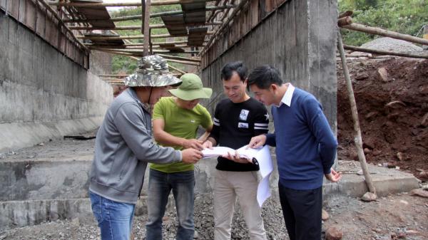Đẩy nhanh tiến độ thi công quốc lộ 32 đi Séo Lèng ở Lai Châu