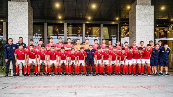 CLB bóng đá Hồng Lĩnh Hà Tĩnh chính thức ra mắt người hâm mộ
