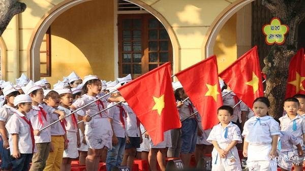 Gần 740.000 học sinh Nghệ An náo nức tham gia lễ khai giảng