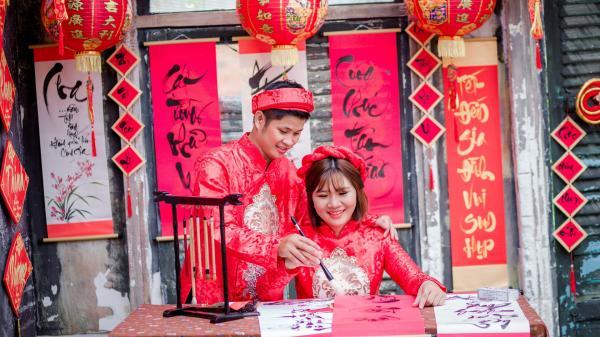 Xúc động bài thơ chú rể Hà Tĩnh tặng cô dâu nhân ngày cưới của mình