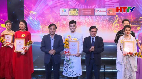 Chàng trai Vũ Quang Thiện giành giải Nhất tiếng hát truyền hình Hà Tĩnh