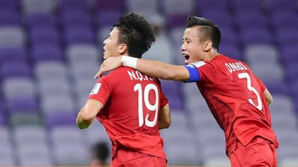 Quế Ngọc Hải là cầu thủ duy nhất được báo hàng đầu châu Á đưa vào đội hình tiêu biểu vòng bảng Asian Cup 2019