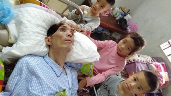 """Điều ước trong nước mắt của 3 đứa trẻ bất hạnh ở Nghệ An ngày cận Tết: """"Chị em cháu chỉ mong bố tỉnh lại"""""""