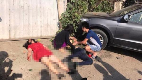 Tai nạn thảm khốc xe khách t.ông ô tô 7 chỗ, 3 người đi chúc Tết t.ử v.ong