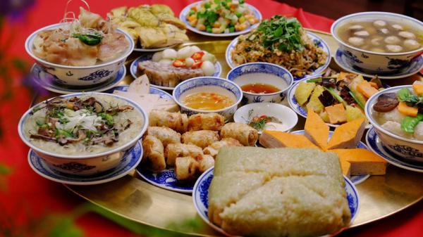 Độc đáo bữa cơm ngày Tết ở xứ Nghệ